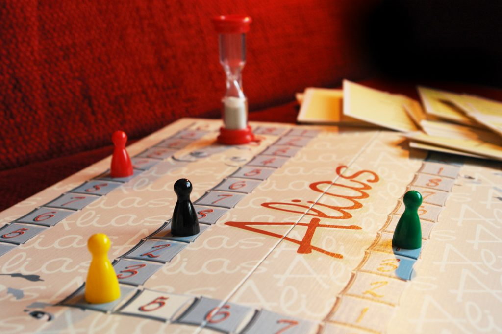 Alias game board